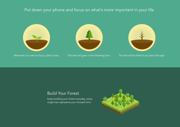 Forest ou comment rester concentré devant votre ordinateur !