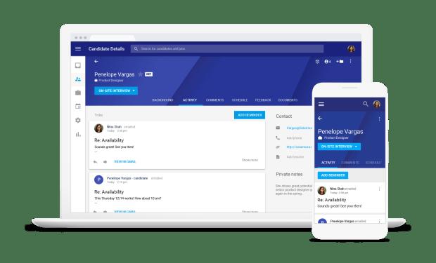 Google Hire : un outil de recrutement intégrant G Suite