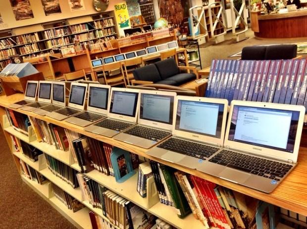 Les Chromebooks font de l'ombre aux téléphones portables dans les écoles américaines