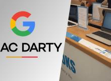 Fnac Darty confirme la vente de Chromebooks dans ses magasins