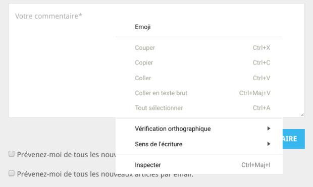 Chrome OS : intégration des emojis et des Drive d'équipe