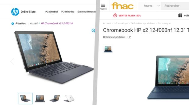 Le HP Chromebook X2 est enfin disponible à la vente !