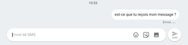 SMS sur Chromebook : la fonctionnalité est disponible en version développeur !