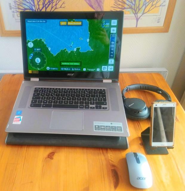 Test exclusif du Acer Chromebook Spin 15 !