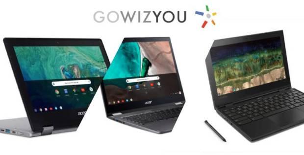 Chromebooks : ça solde aussi chez GoWizYou !