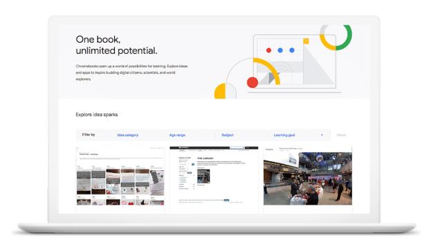 Chromebook App Hub : une ressource de plus pour le monde éducatif !