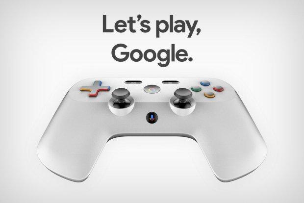 Google prépare une manette de jeux !