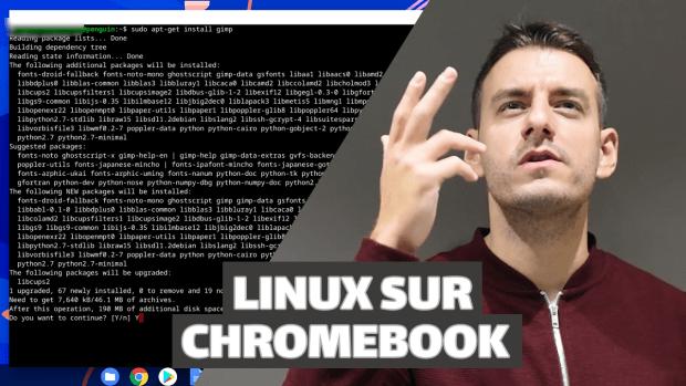 Découvrir Linux et installer des applications sur Chromebook (vidéo)