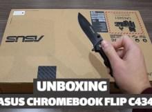 Unboxing vidéo du Asus Chromebook Flip 14 C434 !