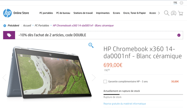 Google France : petit coup de gueule sur les Chromebooks !