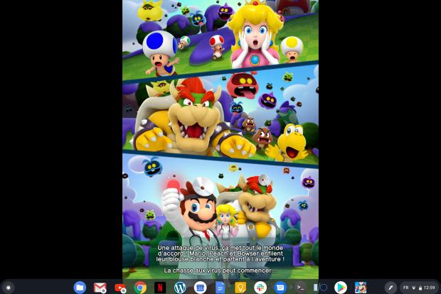 Dr. Mario World : jouez au docteur même sur Chromebook !