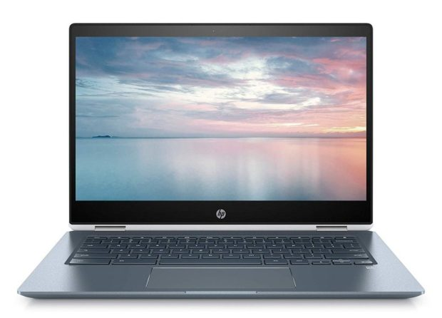 HP Chromebook x360 14 - Face
