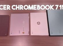 Test vidéo du Acer Chromebook 715