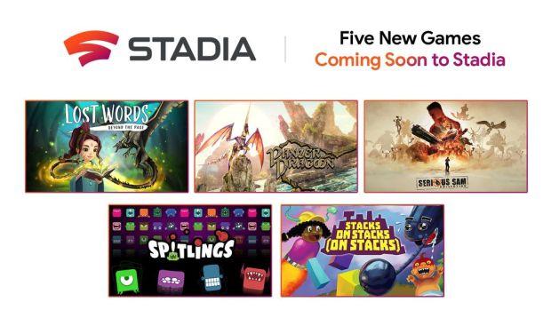 Stadia : 5 nouveaux jeux annoncés !