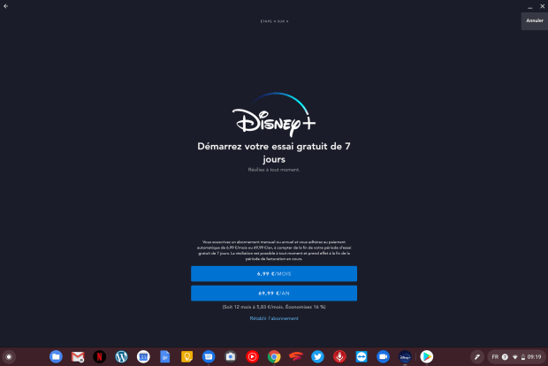 Disney+ : l'application est disponible sur Chromebook !