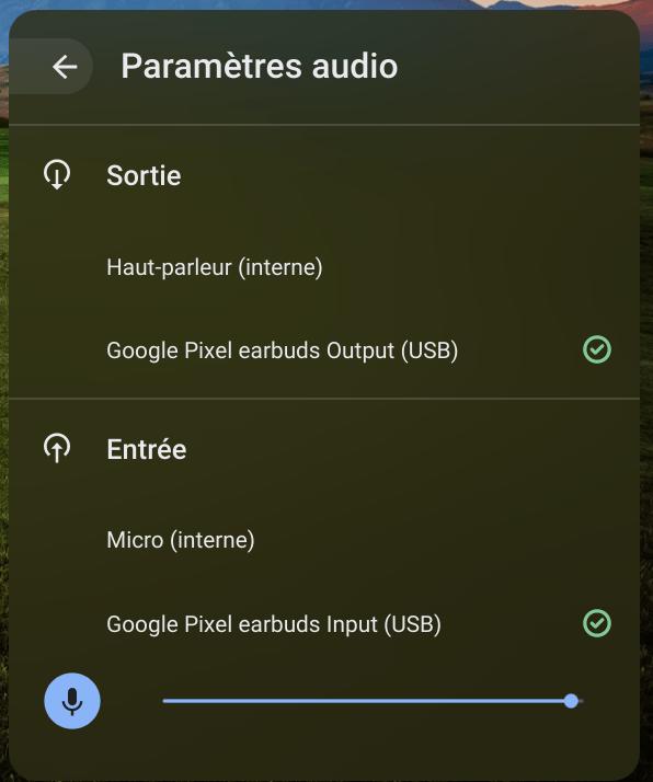 Chrome OS : le contrôle du gain pour le microphone se dévoile !