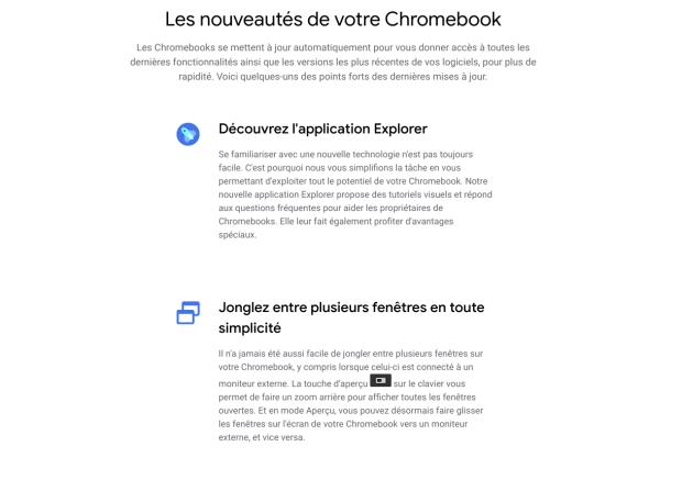 Chrome OS 84 : une mise à jour qui s'accompagne de plusieurs nouveautés !