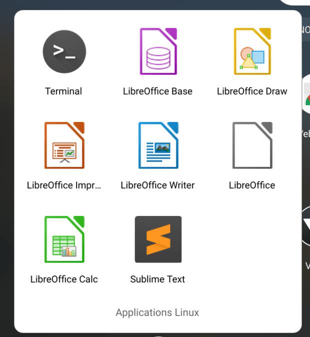 Comment installer Libre Office sur Chromebook ?