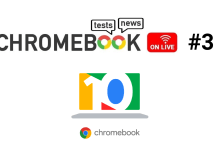 Chromebook On Live #3 : fêtons ensemble les 10 ans du Chromebook !