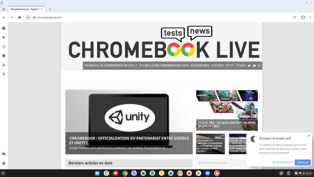 Opera est le premier navigateur alternatif optimisé pour les Chromebooks !