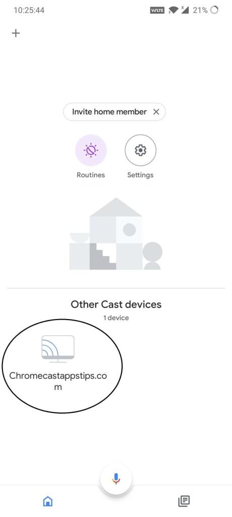 Chromecast Screensaver