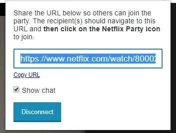 Chromecast Netflix Party