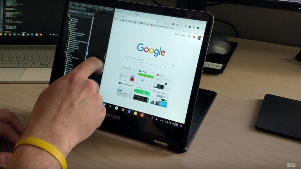 The first-ever Chrome OS tablet has been spotted in London