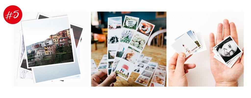 Impression de photographies via Inkify
