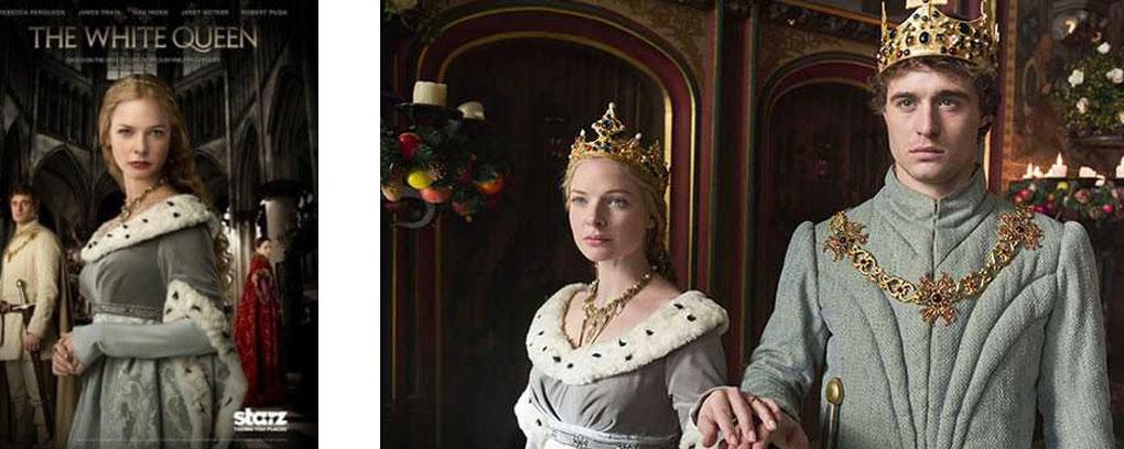 4 séries sur la royauté anglaise - white queen
