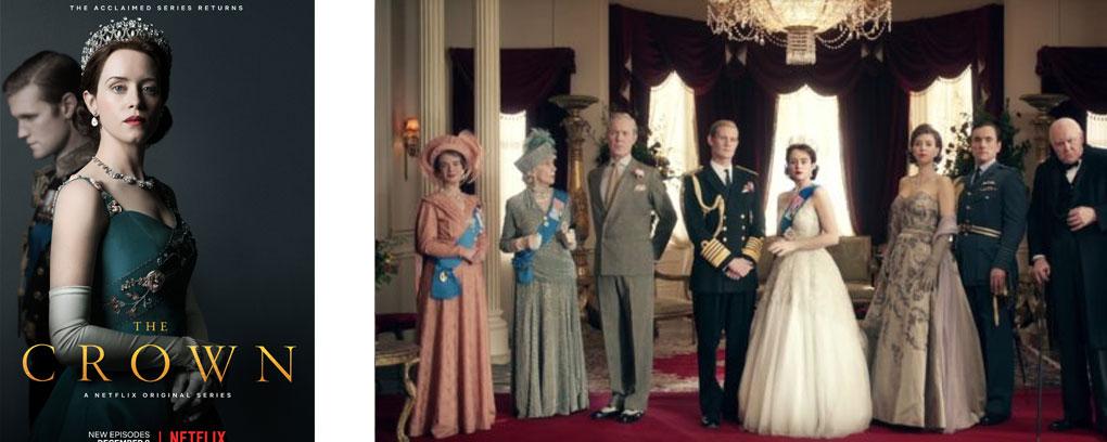 4 séries sur la royauté anglaise - the crown