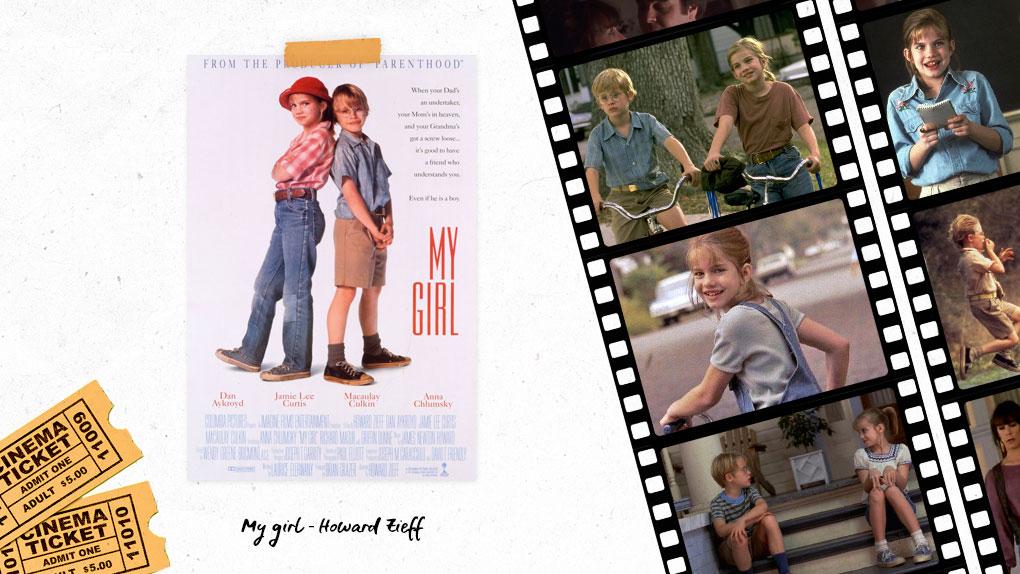 Top 5 des films dramatiques qui me font pleurer My Girl