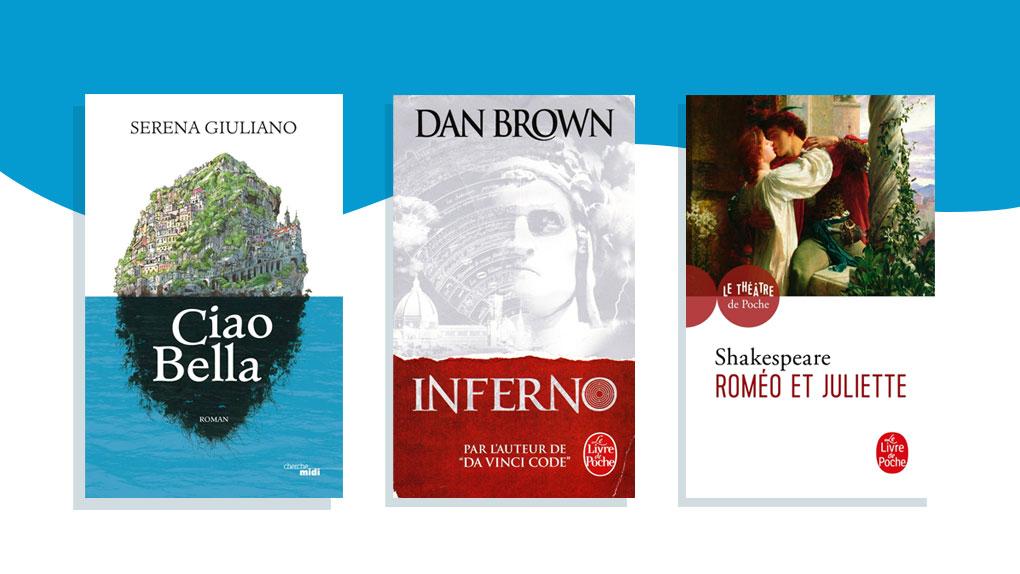 challenge escale littéraire : Voyage en Italie