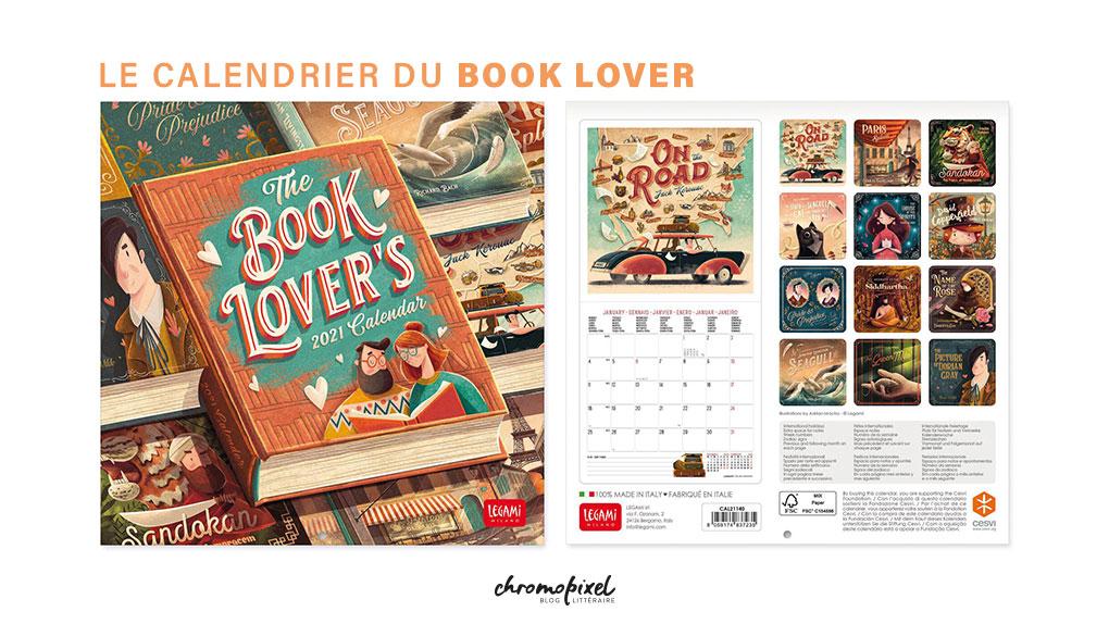 10 idées de cadeau pour les amoureux des livres Le Calendrier du Booklover