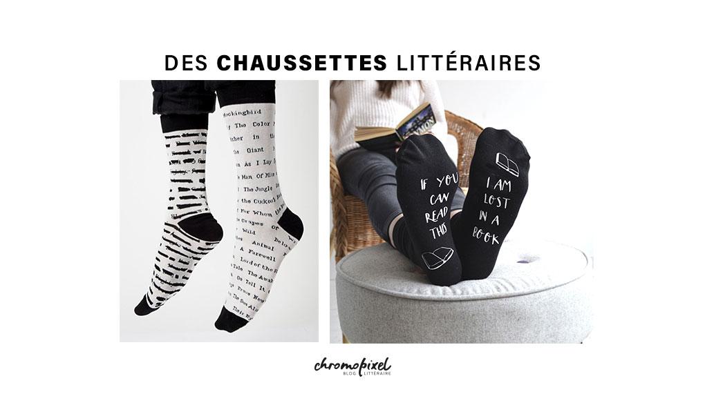 Des chaussettes littéraires