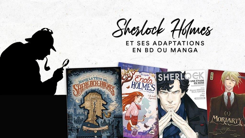 Lire une BD ou un Manga dans l'univers de Sherlock Holmes