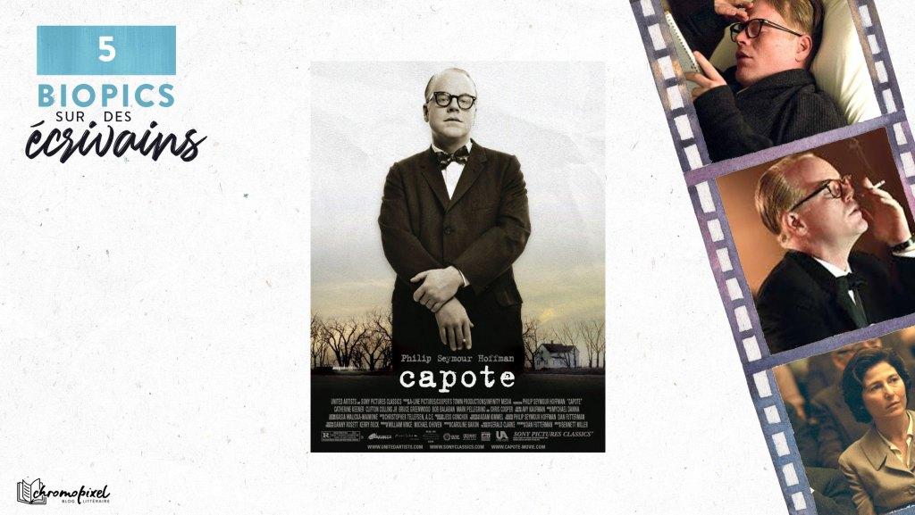 5 Biopics sur des écrivains : Truman Capote