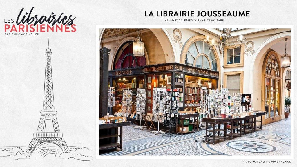 TOP 5 : Les librairies parisiennes à découvrir : Librairie Jousseaume