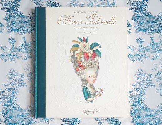 Marie-antoinette-carnet-secret-reine-Benjamin-Lacombe