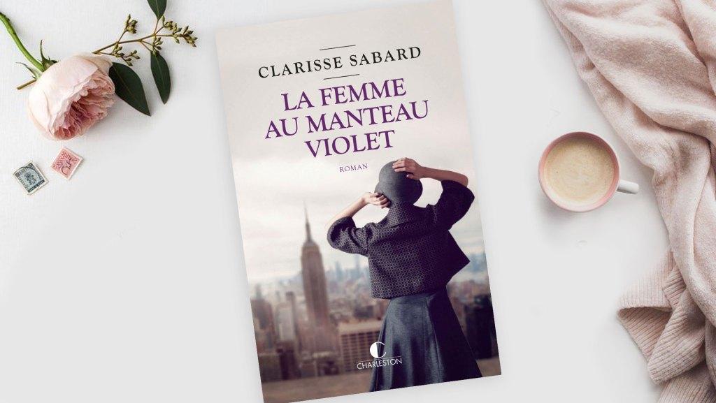 La femme au manteau violet Clarisse Sabard
