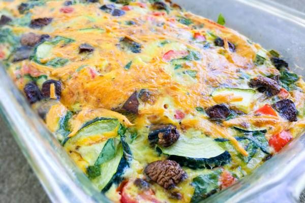 Eggsellent Veggie Breakfast Casserole - Chronically Gluten Free