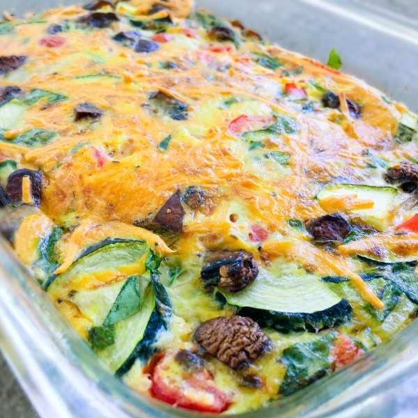 Eggsellent Veggie Breakfast Casserole - Chronically Gluten Free