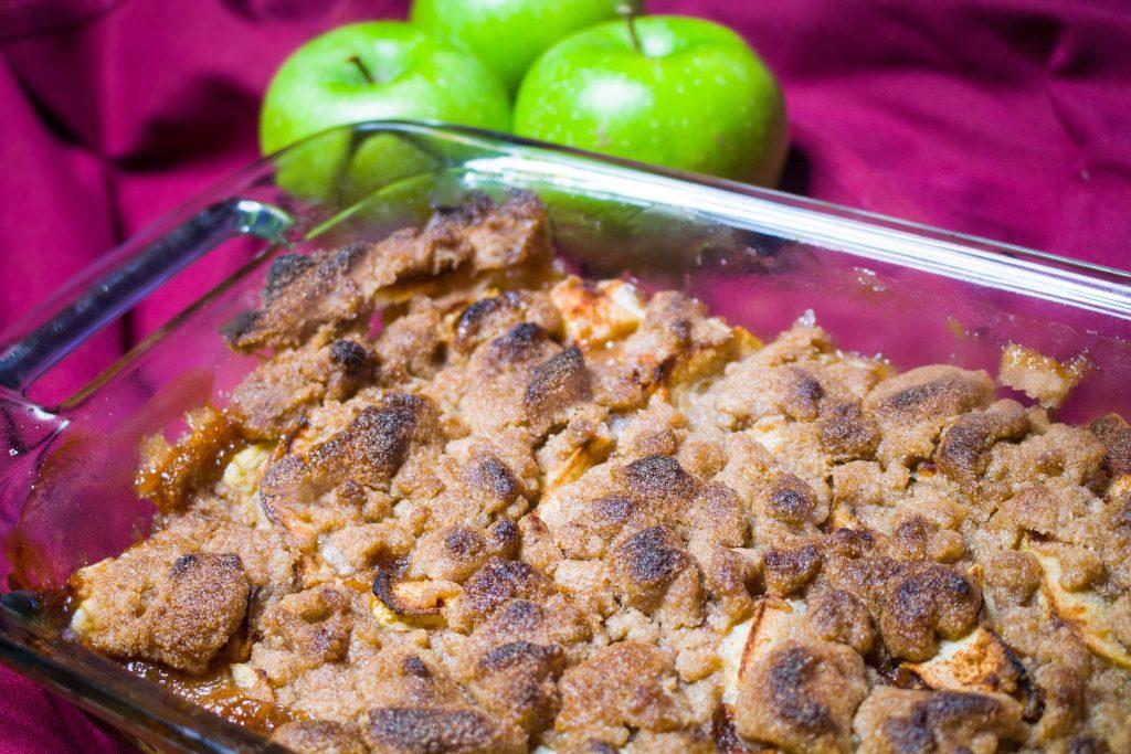Sweet and Savory Apple Crisp – Organic, Gluten Free and Vegan