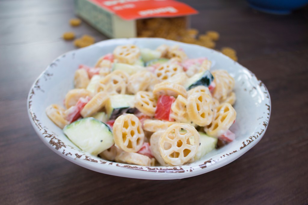 Creamy Vegan Pasta Salad – Gluten Free, Dairy Free & Soy Free