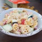 creamy vegan pasta salad - gluten free and dairy free - chronically gluten free