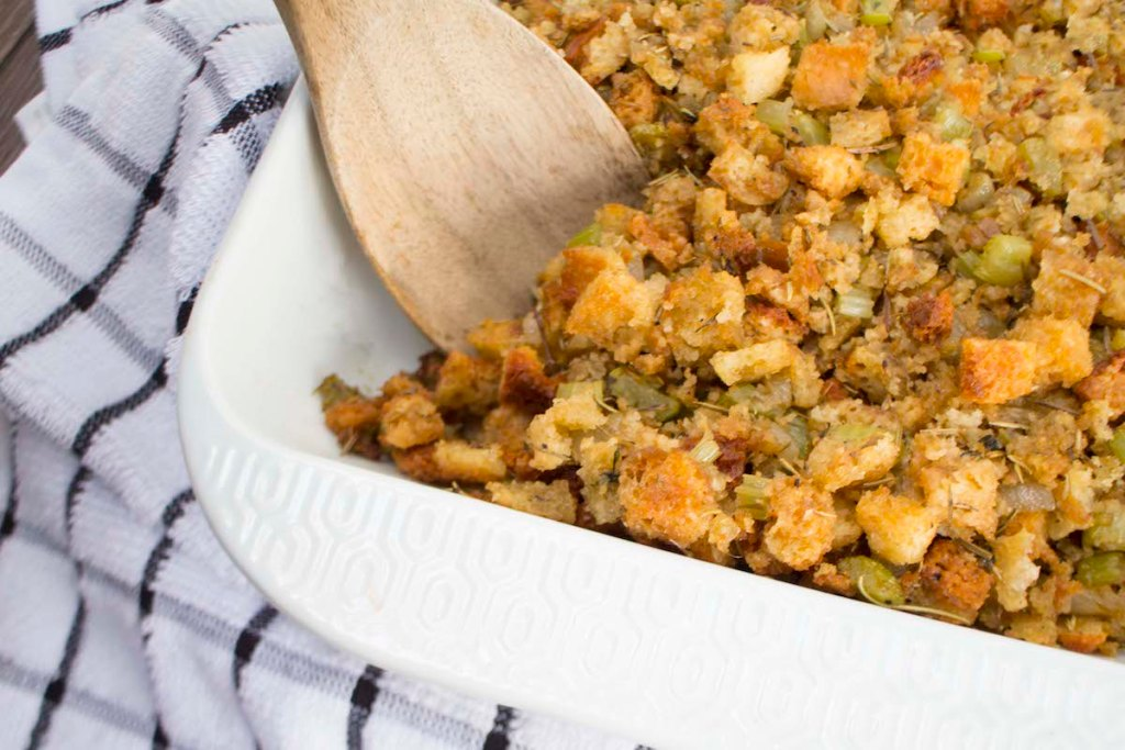Delicious Gluten Free Thanksgiving Stuffing – Dairy Free and Soy Free