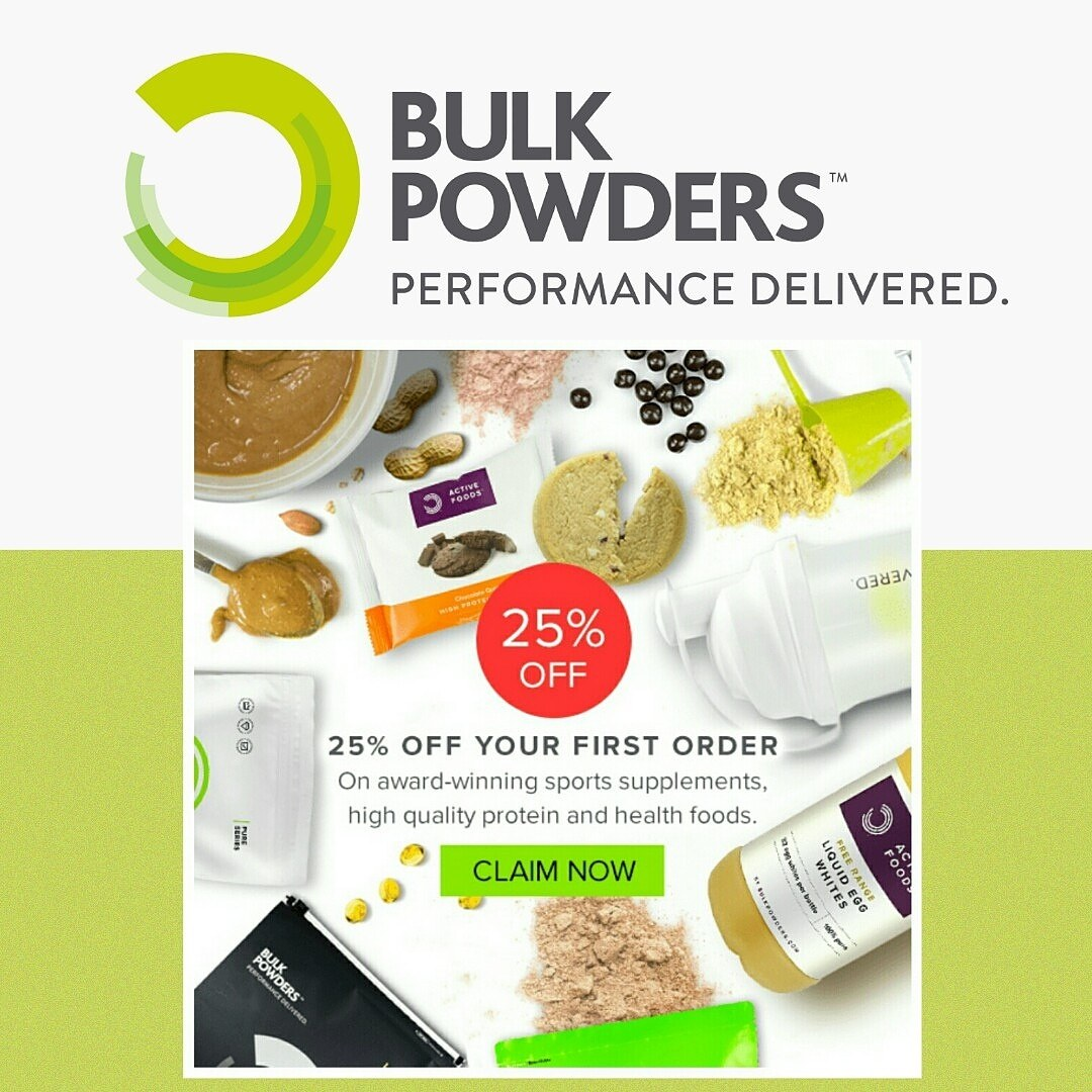 Bulk Powders 25% Discount for first time orders