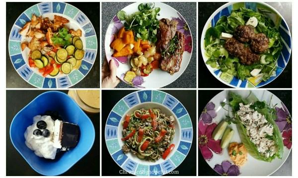 Ketogenic meal ideas, Oct 2017