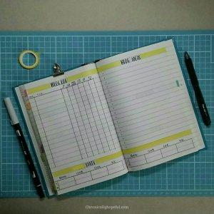 Bujo Nov Blog log and ideas