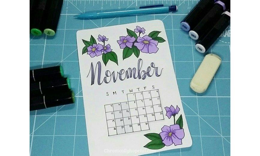 Bujo November 2017