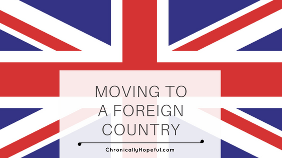 Moving to a foreign country, homecoming BLOG